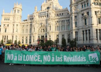 IU Madrid apoya la huelga general educativa del día 9 de marzo