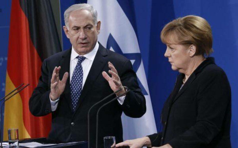 Merkel anula encuentro con Netanyahu debido a los asentamientos