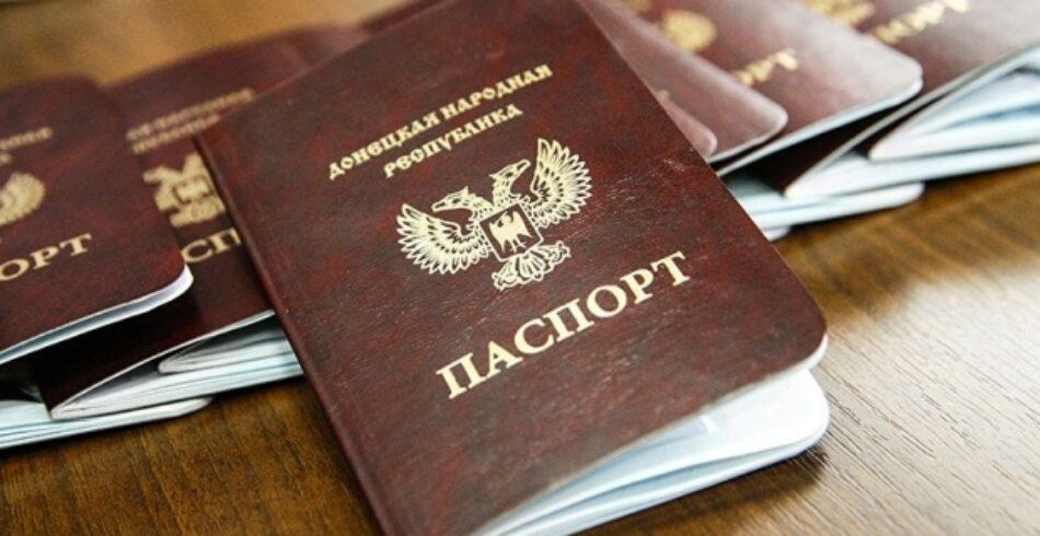 Rusia reconoce los pasaportes de Donetsk y Lugansk