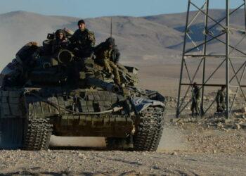 Ejercito sirio prepara operación para liberar Palmira