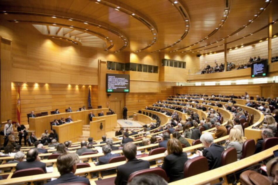 Unidos Podemos insta a la Mesa del Senado a abordar las obras y mejoras que garanticen accesibilidad total de las instalaciones de la Cámara Alta