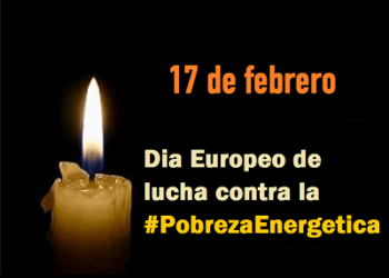 17 de febrero, Día Europeo de Lucha contra la Pobreza Energética: mantas y velas para visibilizar la pobreza energética