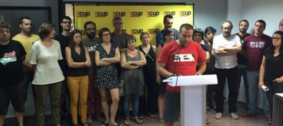 La CUP-CC debat amb les bases com fer efectiu el referèndum i implementar la República