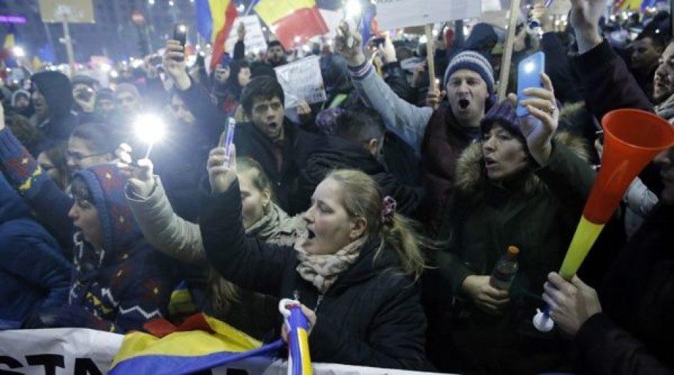 Dimite ministro de Justicia de Rumanía, tras nueve días de protestas