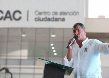 Correa advierte de nueva calumnia contra la Revolución Ciudadana de Ecuador