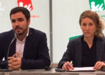 Garzón: «el escenario macroeconómico marcado por el Gobierno del PP y aceptado por sus socios del PSOE es imposible de cumplir y conduce a nuevos recortes»