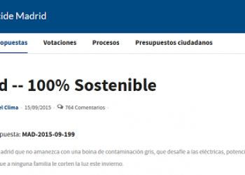 Ecologistas en Acción destaca la importancia de que la ciudadanía pueda votar por municipios 100% sostenibles