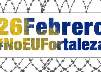 Más de 30 ciudades españolas salen a la calle para mostrar su rechazo a la «Europa Fortaleza» y exigir una acogida real y humana
