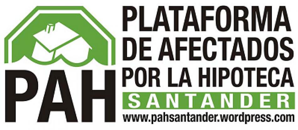 PAH Santander denuncia que una persona está pidiendo dinero en nombre de la Plataforma sin permiso