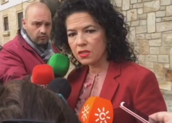 Maribel Mora, la senadora andaluza de Podemos, constata serias deficiencias en el CIE de Algeciras