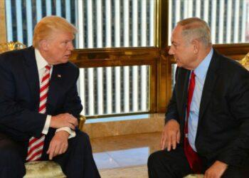 'Trump inicia belicismo en Oriente Medio con viaje de Netanyahu'