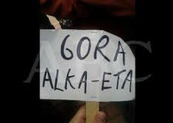 El GORA ALKA-ETA dels TITIRITEROS s´exhibeix a Sabadell