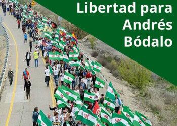 19F: manifestación en Jaén por la libertad de Andrés Bódalo