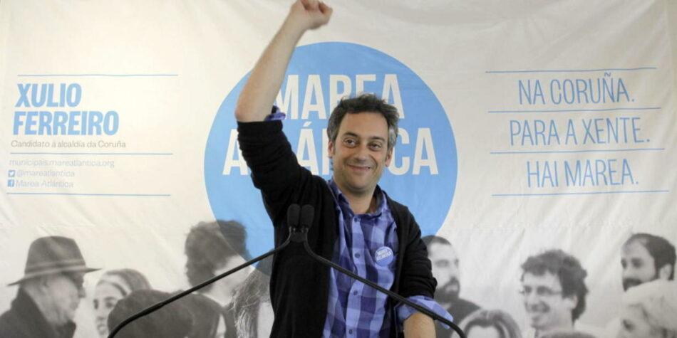El PSOE se une al PP contra Xulio Ferreiro, el alcalde de izquierdas de A Coruña