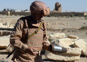 Rusia envía 187 zapadores a Palmira para operaciones de desminado