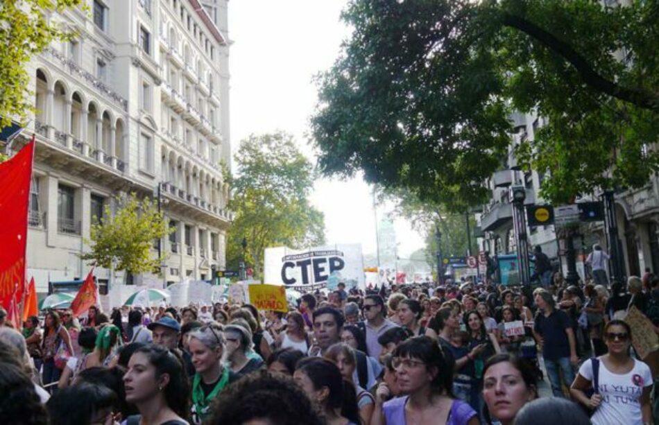 Argentina: Cientos de miles de mujeres pararon y marcharon contra el patriarcado y el gobierno de Macri