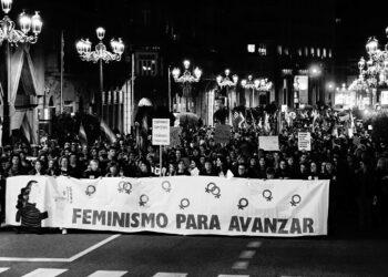 Vigo bótase ás rúas para pedir feminismo