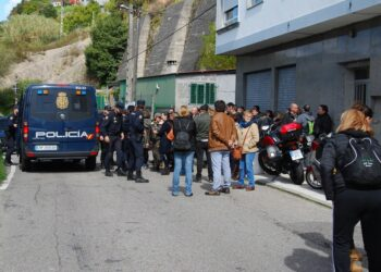 Un detenido en la huelga de Pescanova