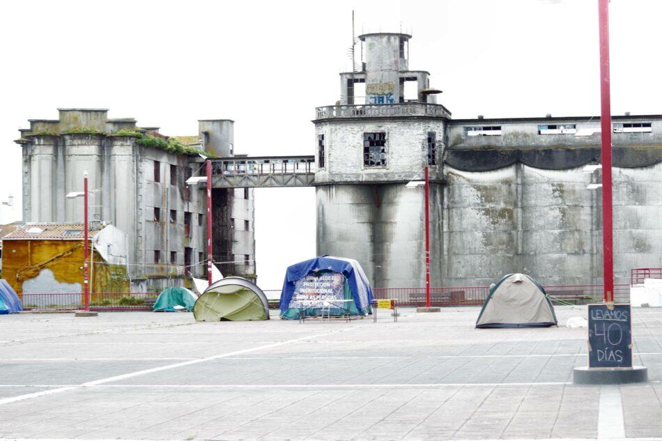 40 días -y noches- denunciando la pobreza en Vigo