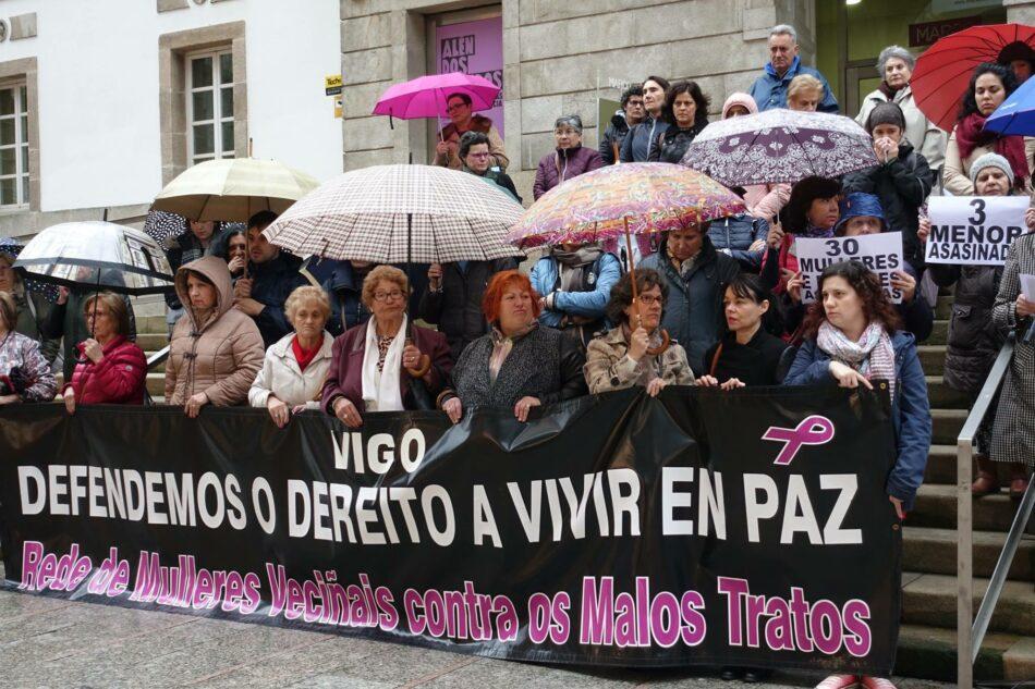 Concentración polo dereito das mulleres a vivir en paz