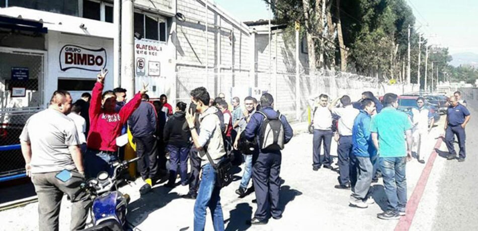 Guatemala: BIMBO desacata orden judicial