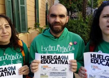Participa respalda las reivindicaciones en defensa de la educación pública