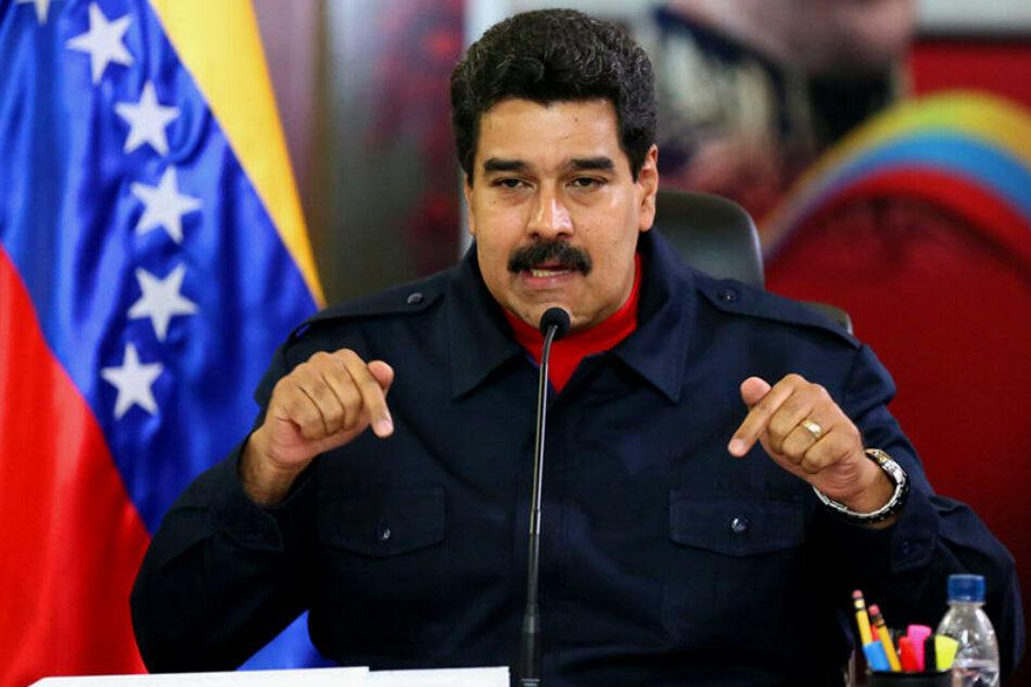 Maduro habló con sus homólogos de México y Panamá sobre la OEA