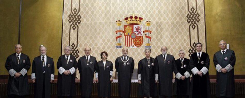 Unidos Podemos se niega a votar en el Senado la elección de los cuatro miembros del Tribunal Constitucional