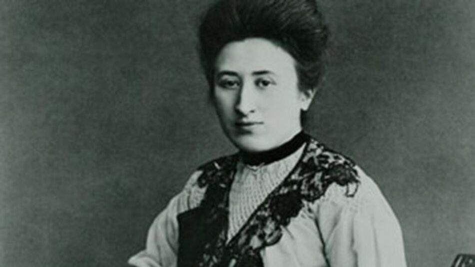 ¿Cómo era la vida de Rosa Luxemburgo?