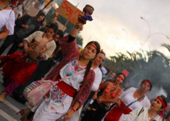 Chile. 8M. En Concepción cientos de personas marcharon conmemorando el Día Internacional de la Mujer trabajadora