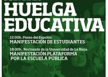 Alternativa Universitaria apoya la Huelga General en Educación del 9 de marzo
