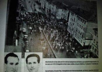 """Dez de marzo de 1972. """"DÍA DA CLASE OBREIRA GALEGA"""""""