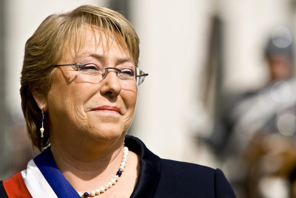 Presidenta de Chile ha cumplido solo el 48 % de sus promesas