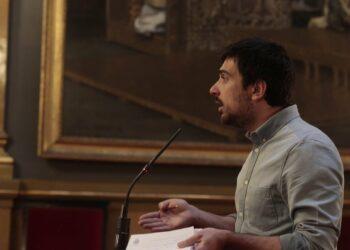 Ramón Espinar y Óscar Guardingo dirigen una batería de preguntas al Gobierno sobre los paros convocados por los trabajadores de Ferroser en RENFE