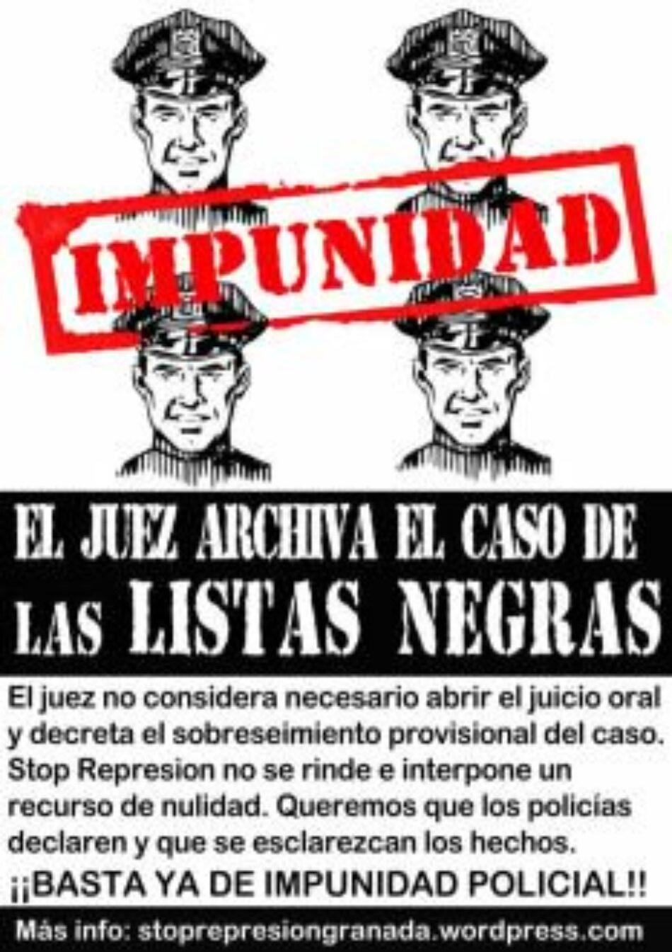 Archivo provisional del caso de los policias nacionales imputados por el supuesto uso de archivos ilegales