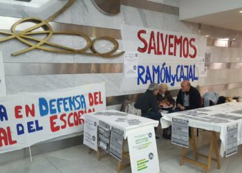 Encierro en el Hospital Ramón y Cajal contra los recortes en Sanidad