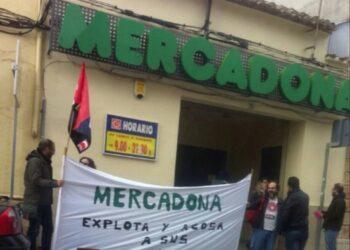Acosado y despedido el delegado de la sección sindical de CGT en Mercadona de la provincia de Jaén