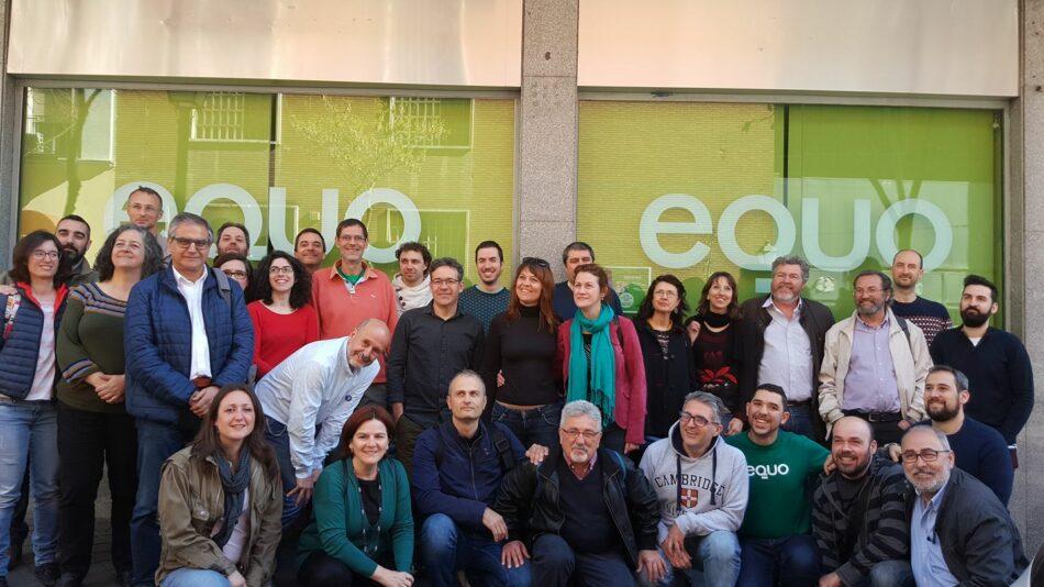 EQUO priorizará el cambio de modelo económico y energético desde las instituciones