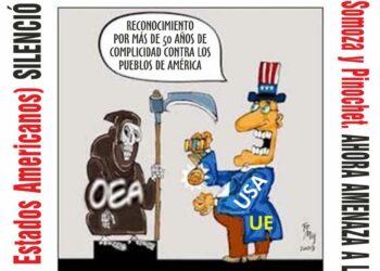 Despliegan campaña en Gran Canarias en apoyo a Venezuela ante la agresión desde la OEA