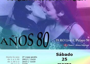 """Arcópoli invita a su fiesta de activismo LGTB de los 80:""""mujer contra mujer"""""""