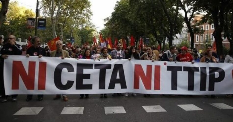 La sociedad civil se movilizará contra la ratificación del CETA