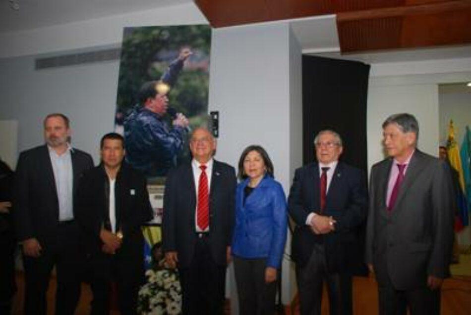 En Madrid rindieron tributo al ideario y a la acción humanista de Hugo Chávez