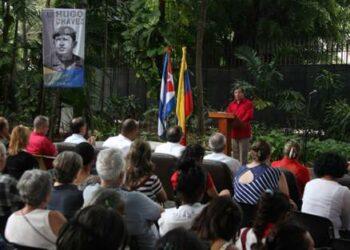 Rinden en La Habana homenaje a Chávez y a Fidel en el Día de la Dignidad Latinoamericana y Caribeña