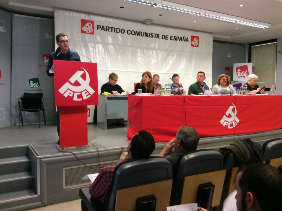 El PCE convoca su XX Congreso con la mirada puesta en la Unidad Popular