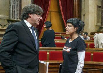 La CUP-CC no vol cap modificació de l'articulat dels pressupostos en matèria de referèndum