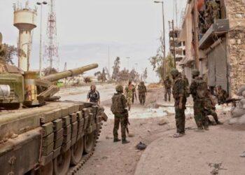 Ejército sirio libera los Silos de Grano y la Estación Eléctrica cerca de Palmira