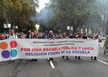 Europa Laica apoya la huelga de la enseñanza por una escuela pública y laica