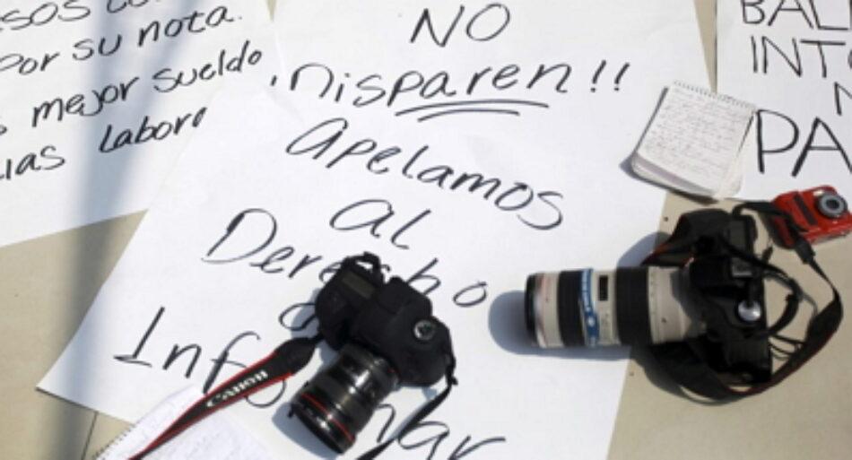 México: 30 periodistas han sido asesinados desde 2013