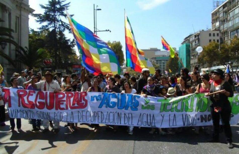 Chile. Movimiento por el agua y territorios define a Concepción como sede de la V marcha plurinacional