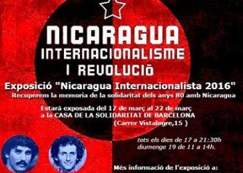 "Exposición fotográfica: ""#Nicaraguainternacionalista 2016"""
